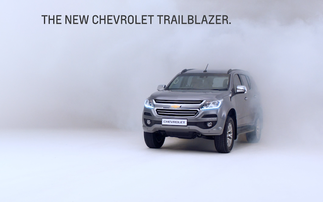 Chevrolet Trailblazer- Milliseconds Bevan Cullinan Performance Comedy Director